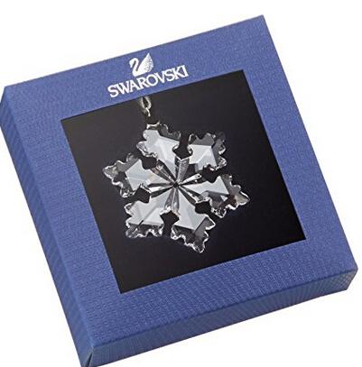 圣诞礼物,可直邮!秒杀!Swarovski 施华洛世奇2016新款限量版小雪花挂件