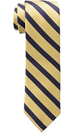 凑单新低价!TOMMY HILFIGER Slide Striped 男士真丝领带
