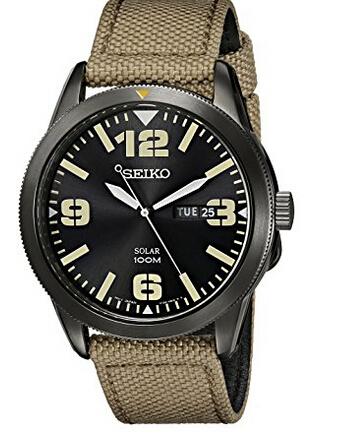 额外7折!手快有!Seiko 精工 SNE331 男士太阳能腕表