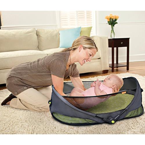 Prime会员专享!BRICA Fold N' Go Travel Bassinet便携可折叠婴儿睡篮