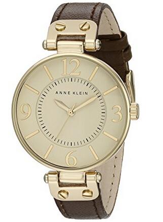 近期好价!ANNE KLEIN 109168IVBN 女士时装腕表