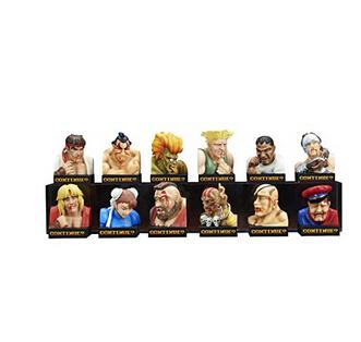 童年回忆!GSC 街霸败北表情 角色套装版 12个装