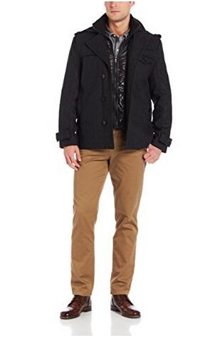 限尺码,法国大牌 Emanuel Ungaro 男士羊毛外套