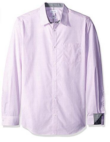 美亚新低价,Calvin Klein 卡文克莱 Button Down Shirt 男士纯棉衬衣