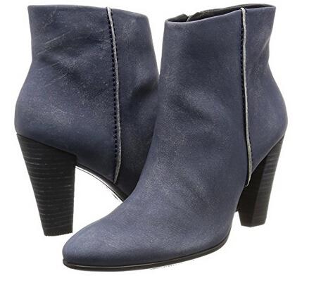 美亚新低价!ECCO 爱步 型塑 女士磨砂皮高跟短靴 两色可选
