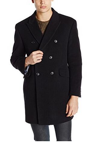 限尺码,Tommy Hilfiger 男士羊毛混纺外套