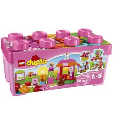 美亚新低价!LEGO 乐高 DUPLO 得宝系列 Creative Play 10571多合一趣味桶