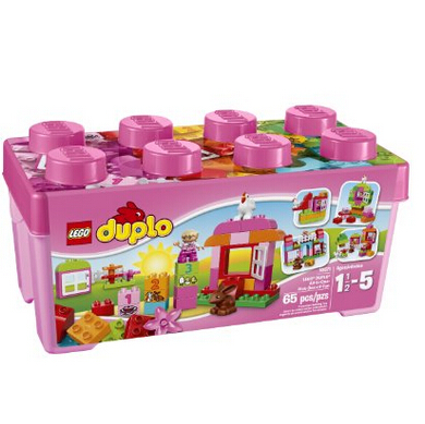 大颗粒!LEGO 乐高 DUPLO 得宝系列 Creative Play 10571多合一趣味桶特价24.99美刀,转运到手约260元