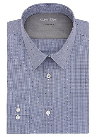 美亚新低价,Calvin Klein 男士弹力修身衬衫