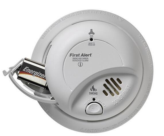 海淘!First Alert BRK SC9120B  煤气一氧化碳烟雾报警器
