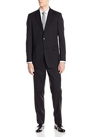 限尺码好价,Tommy Hilfiger 全羊毛西装含裤套装