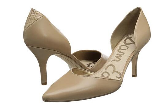 6PM新低价!Sam Edelman 女士真皮浅口单鞋