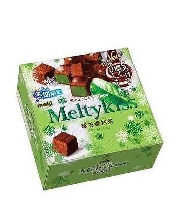 吃货福利!凑单新低价! meiji 明治 Meltykiss premium chocola 精选巧克力口味 60g×5盒