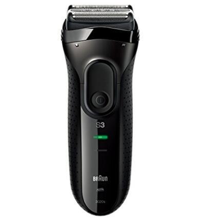 日亚新低!Braun博朗3020s-B干湿两用充电电动剃须刀