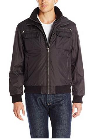 美亚新低价!Calvin Klein 男士飞行员夹克 两色可选