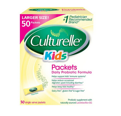 金盒特价!保健品专场 Culturelle 婴幼儿益生菌 50袋