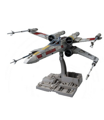 日亚新低价!BANDAI 万代 star wars星球大战 1/72 X-WING 反抗军X翼战机 模型