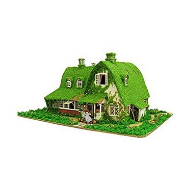 日亚好价!sankei 吉卜力工作室系列 魔女宅急便 琪琪和吉吉的家 1/150