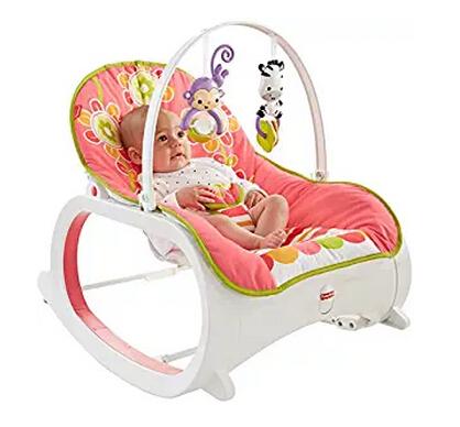 历史新低!Fisher-Price 费雪 Infant-to-Toddler 婴幼儿摇椅