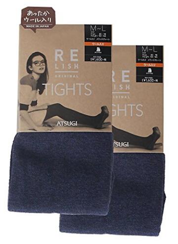 日亚好价!ATSUGI 厚木 RELISH ORIGINAL 450D发热保暖袜 2双