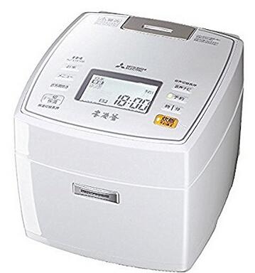 日亚好价!MITSUBISHI ELECTRIC 三菱电机 NJ-VW106-W IH本碳釜电饭锅 5.5合