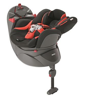 日亚好价!Aprica 阿普丽佳 平躺360度旋转汽车安全座椅