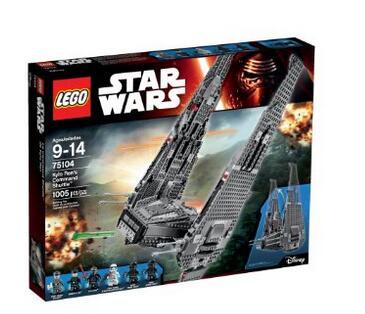 再次好价!LEGO 乐高 星球大战 75104 Kylo Ren的指挥穿梭机