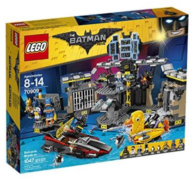 2017年新款乐高!Lego Batman Movie 70909乐高蝙蝠侠大电影系列蝙蝠洞