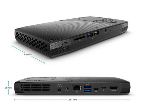NUC主机海淘推荐!Intel NUC Kit NUC6i7KYK 骷髅峡谷迷你PC