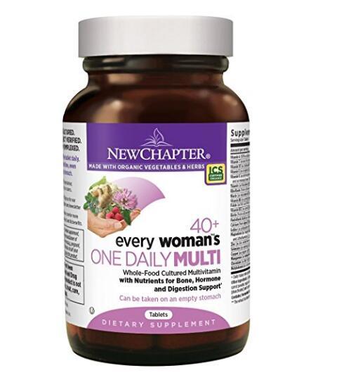 好价可入!New Chapter 新章 40岁以上女性综合有机营养片96粒