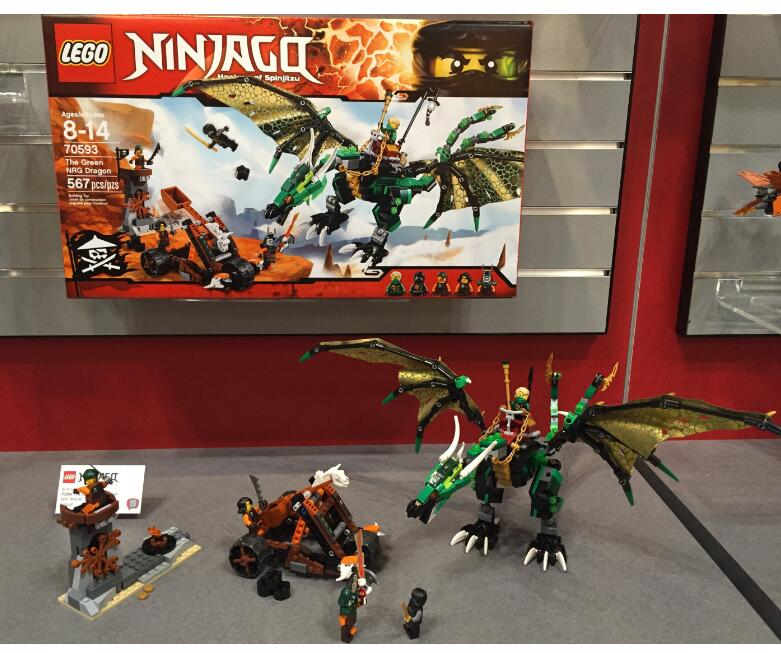 低于30刀,手快!LEGO 70593 乐高幻影忍者系列之绿神龙
