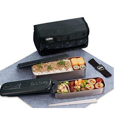 日亚好价,THERMOS 膳魔师 DSD-1102W CM 2段式午餐盒 1100ml