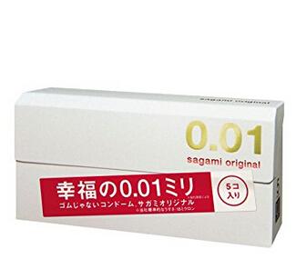凑单品新低价! Sagami 相模原创 0.01mm 安全套 5片装