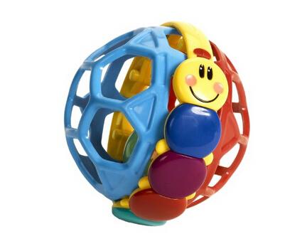 凑单新低!Baby Einstein Bendy Ball 小小爱因斯坦柔韧手抓球