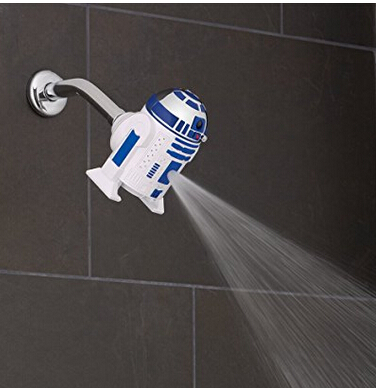 星战迷入!oxygenics 星球大战7 R2-D2 多功能淋浴花洒