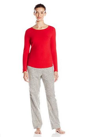 限尺码好价, Calvin Klein 女士棉质睡衣居家休闲套装
