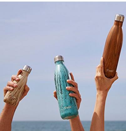 凑单新低价, Swell Wood木纹系列 不锈钢保温瓶