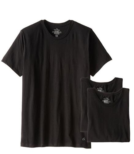 美亚好价!Calvin Klein 男士纯棉圆领T恤 3件装