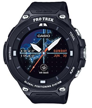 日亚海淘!CASIO 卡西欧 WSD-F20-BK RPO TREK GPS智能手表
