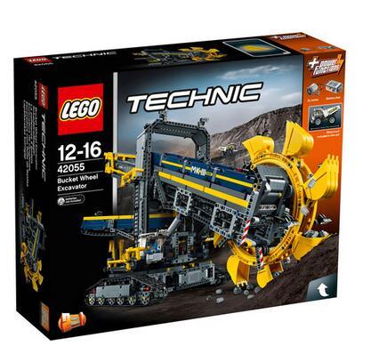 windeln.de海淘乐高!LEGO 乐高 科技系列 42055 斗轮挖掘机