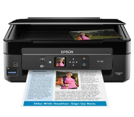 亚马逊海外购!Epson XP-330 爱普生无线多功能彩色打印机