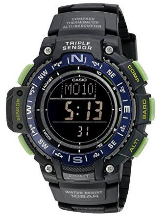 美亚好价,CASIO 卡西欧 SGW-1000-2BCF 男士户外运动腕表
