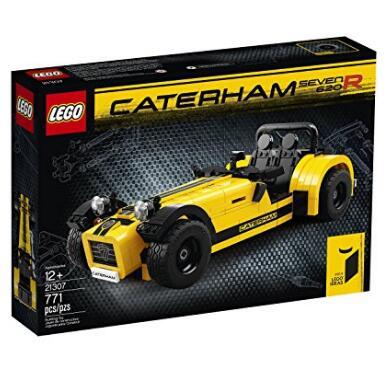 美亚会员福利!LEGO 乐高 Ideas 21307 卡特汉姆 620R 手工车