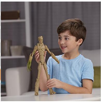 直邮白菜价!MARVEL 漫威 《银河护卫队》可长高的树人玩偶