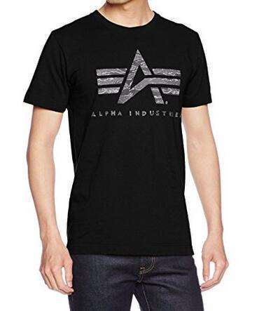 海外购新低价!Alpha Industries 阿尔法男士纯棉T恤
