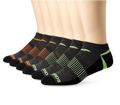 亚马逊海外购凑单!Saucony 圣康尼男士运动袜6双装