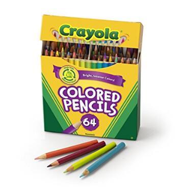 价格很白菜!绘儿乐 Crayola 彩色铅笔64支装