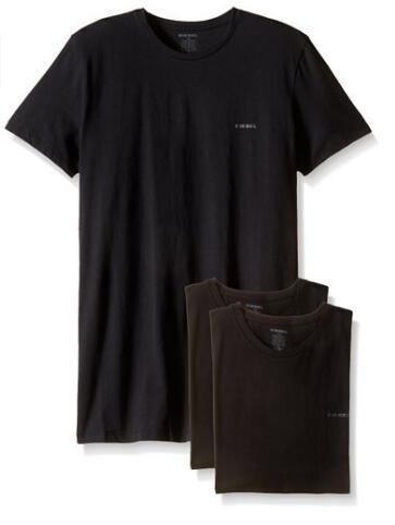 亚马逊海外购补货,Diesel 迪赛 男士纯棉打底T恤*3件装
