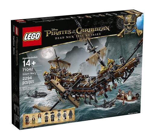 美亚新低!LEGO 乐高 《加勒比海盗5》Silent Mary 71042 海盗船