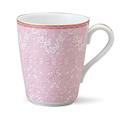 情侣杯来了!NARUMI 鸣海 印花细瓷杯